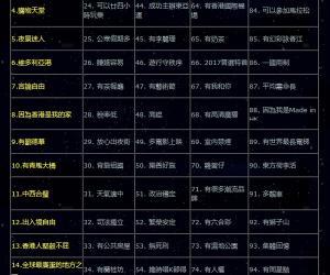 """""""有张国荣""""成为香港人最爱香港的理由第一位"""